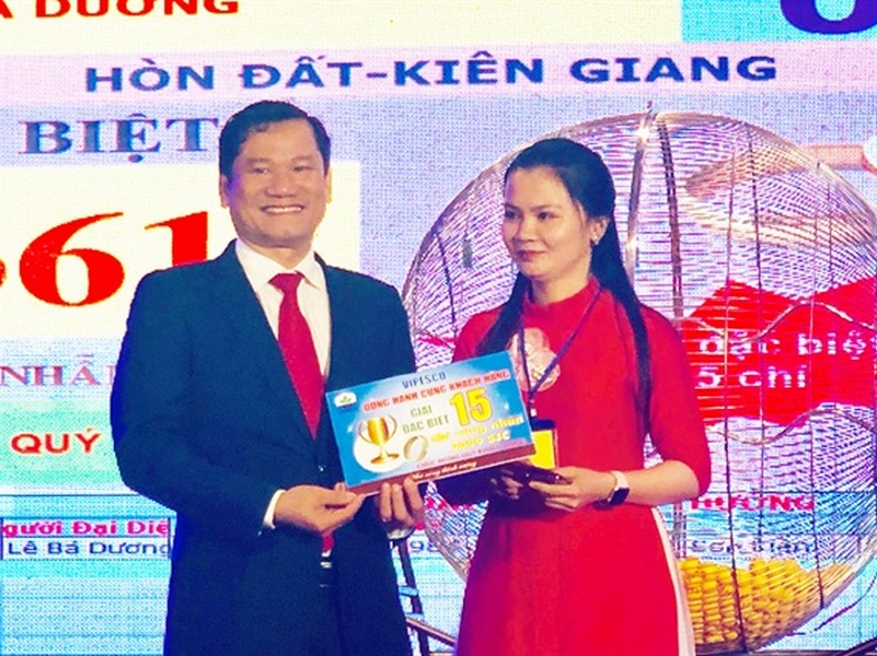 Nhiều khách hàng 'rinh' giải vàng của Vipesco qua chương trình Vipesco Đồng hành cùng KH lần 18-2019
